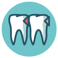 Minimalinvasive Zahnbehandlungen durch Icon oder Laserbehandlung in München